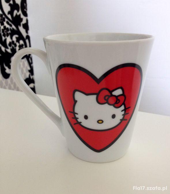 SANRIO kubek biały I love Hello Kitty 200 ml NOWY