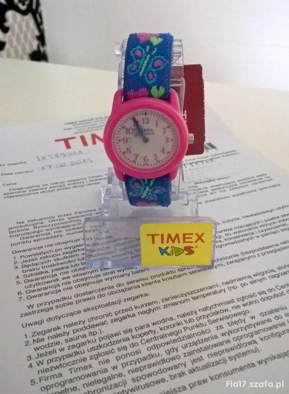 TIMEX Kids T89001 zegarek motylki gwarancja st DB