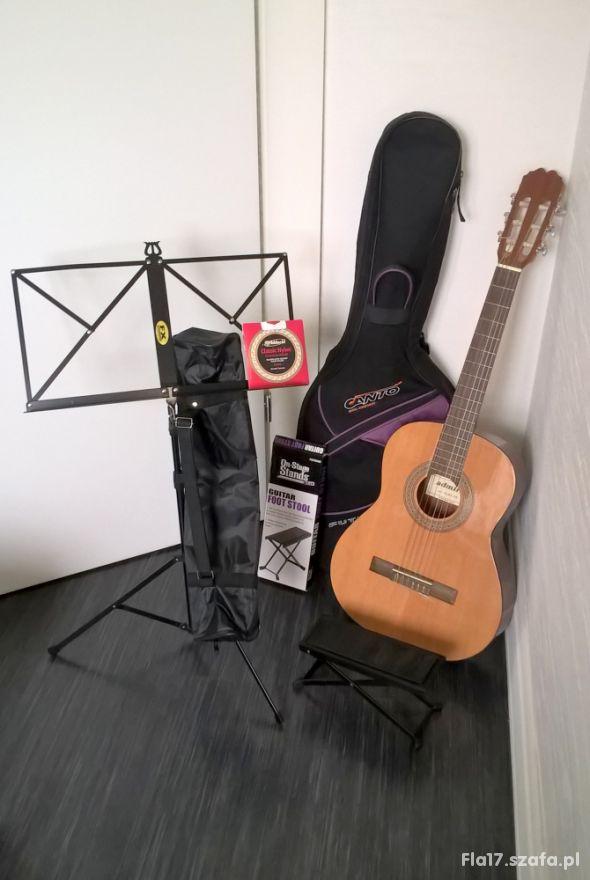 ADMIRA Alba 3 4 gitara klasyczna i akcesoria st BD