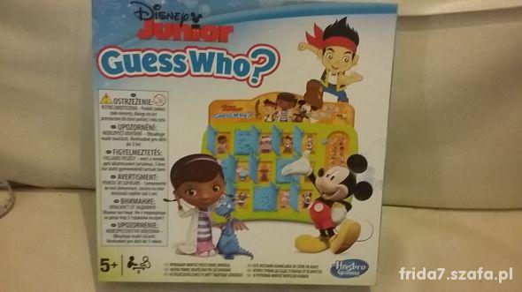 Zgadnij kto to Disney Junior Hasbro