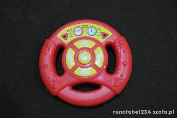 Kierownica zabawka interaktywna