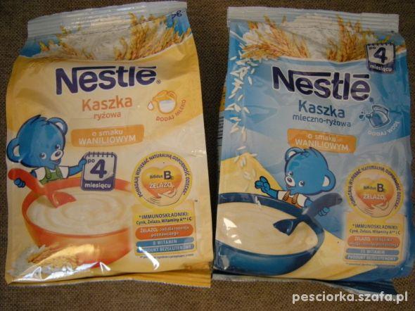 2 x kaszka Nestle ryżowa mleczna waniliowa