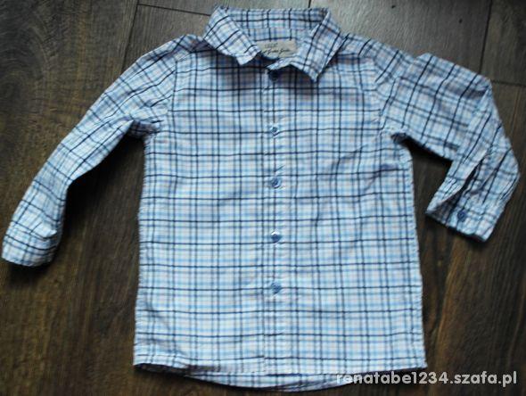 Koszula w krateczkę 86 92