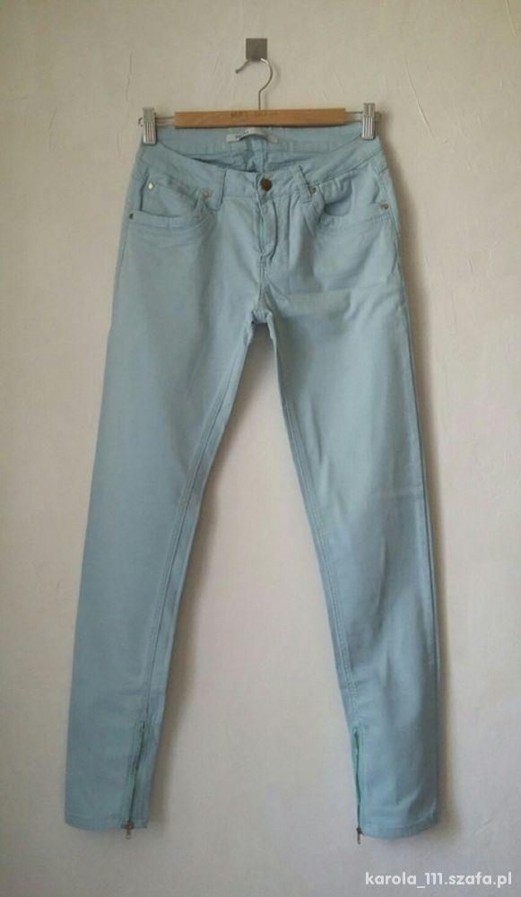 spodnie zipy