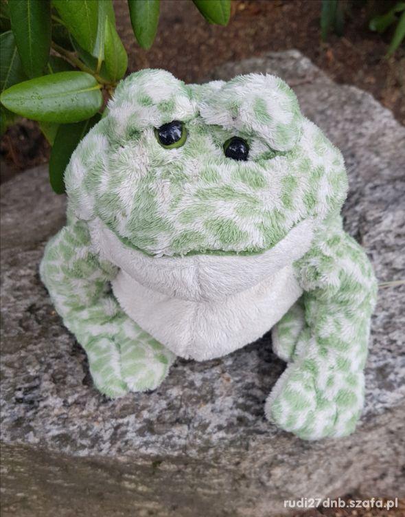 Żaba żabka maskotka przytulanka