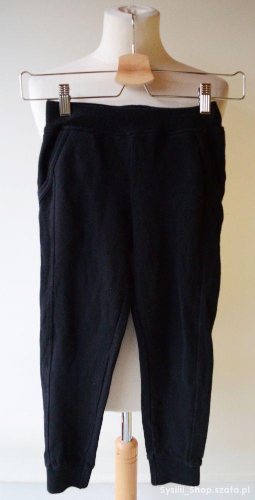Spodnie Dresy Czarne Crivit 122 128 cm 6 7 lat