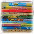 10 bajek Tom i Jerry Troskliwe Misie Smerfy