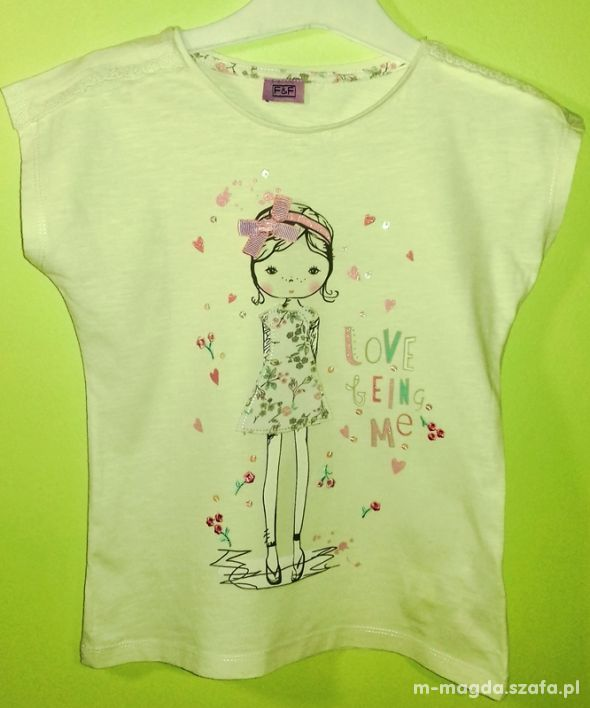 Koszulka FF 116cm