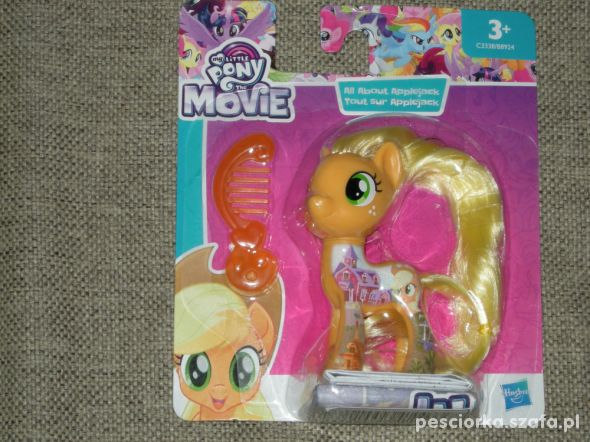 Nowe kucyki My little Pony Applejack Rarity Twilig