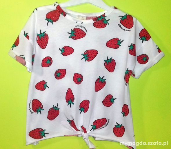 Bluzeczka Zara 128cm