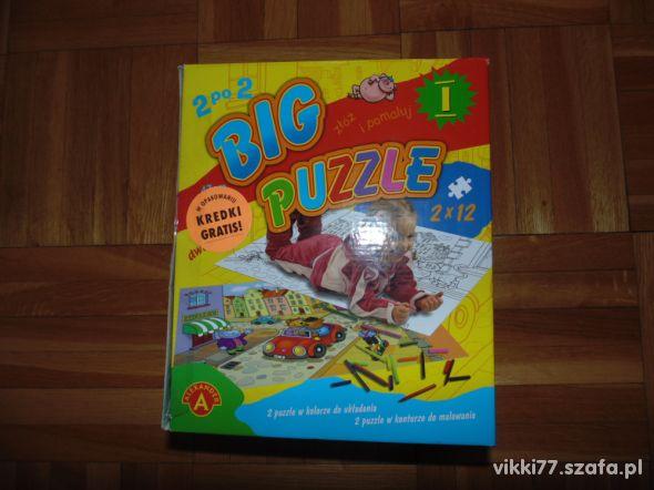 Ogromne puzzle 2 sztuki