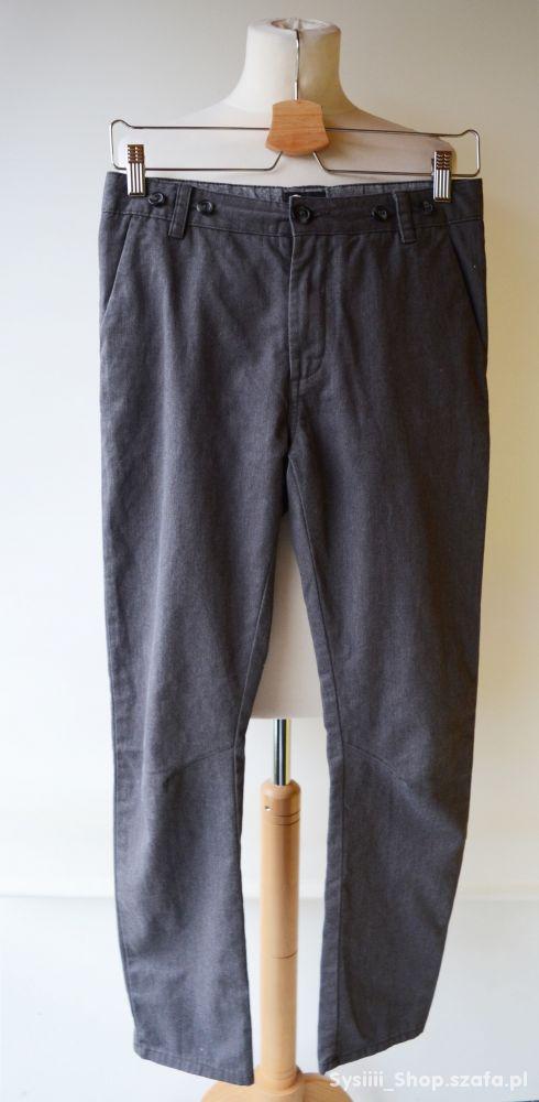 Spodnie Szare Cubus Eleganckie 158 cm 13 lat