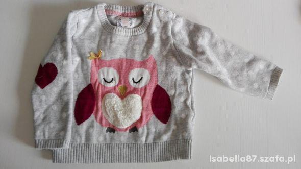 Cudowny sweterek Early Days 74 cm