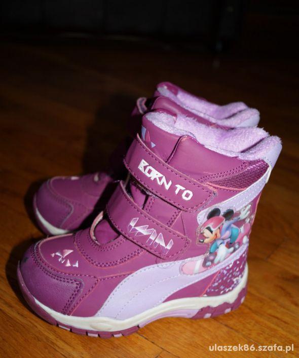 zimowe buty r 27