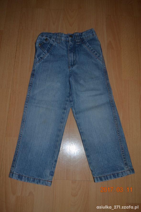 IMPIDIMPI jeansy dla smyka 104cm