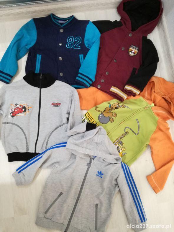 zestaw bluz dla chłopca 98 104 i GRATIS
