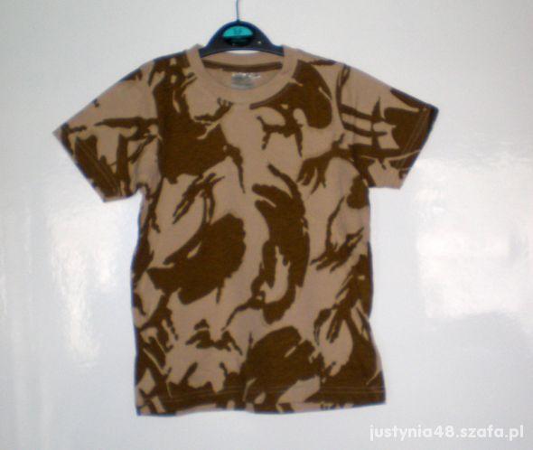 Highlander t shirt koszulka piaskowe moro