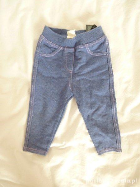 Spodnie getry legginsy H&M r 68