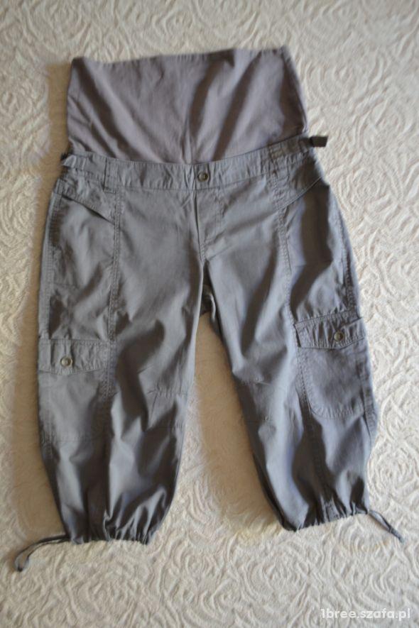 Spodnie ciążowe szare do kolan 40 TCM