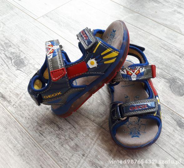 Świecące sandałki dla chłopca GEOX Respira rozm 22