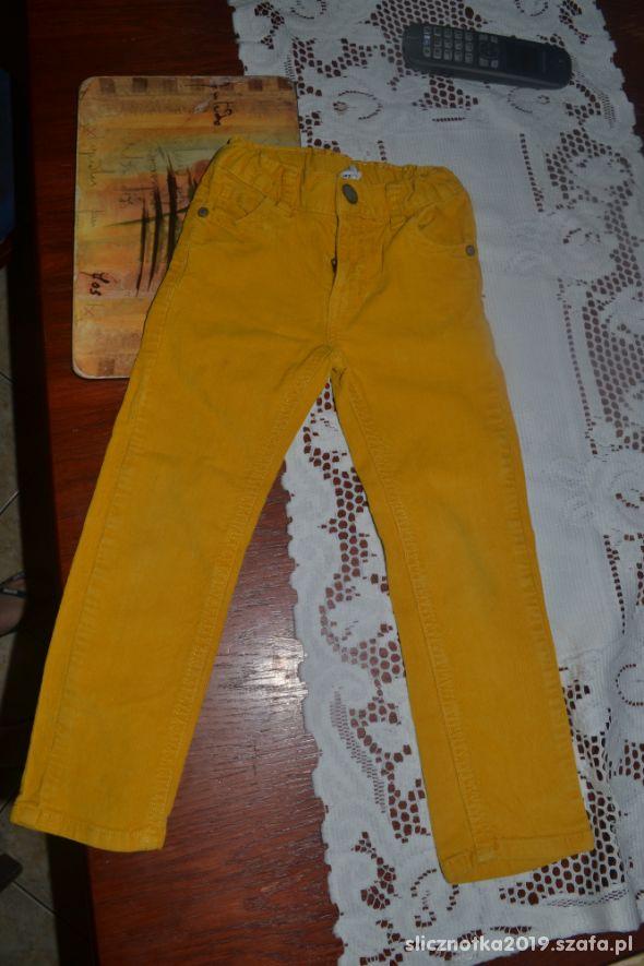 Spodnie Hema 104cm 3 4 lata miodowe