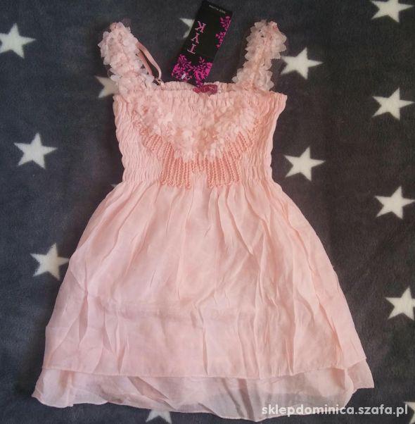 Nowe sukienki dla dziewczynek różne kolory i rozm