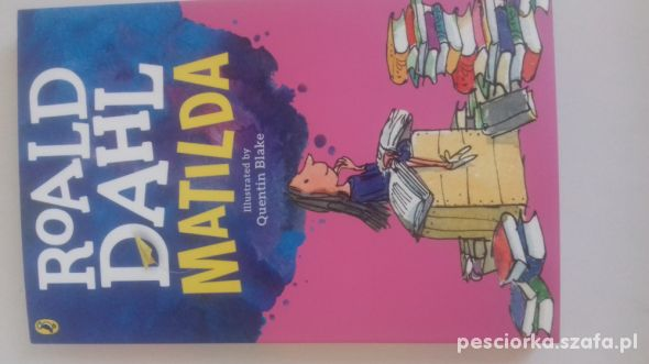 Matilda po angielsku Roald Dahl Matylda nowa