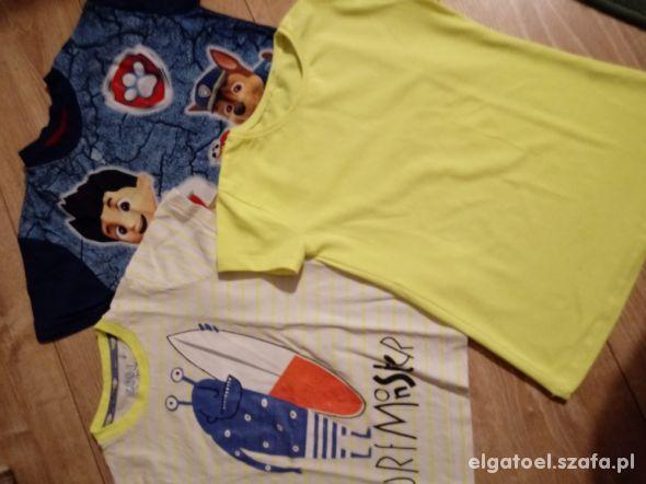 3 bluzeczki dla chłopca cool club
