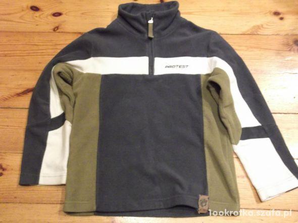 Bluza z polaru rozmiar 128