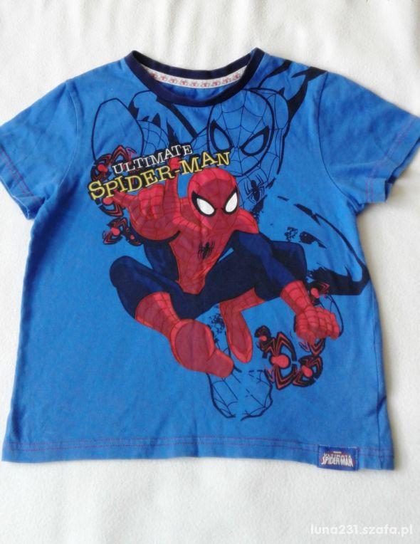 Bluzka ze SPIDER MAN rozm 122 cm