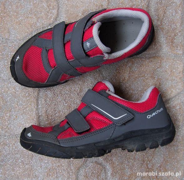 31 Wygodne buty turystyczne dziewczęce na rzepy