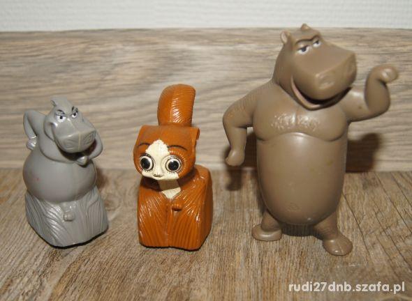 Figurki zestaw kolekcja Madagaskar