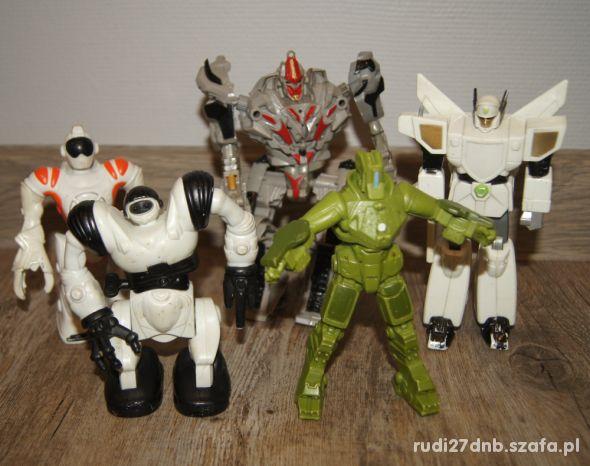 Figurki zestaw kolekcja Roboty