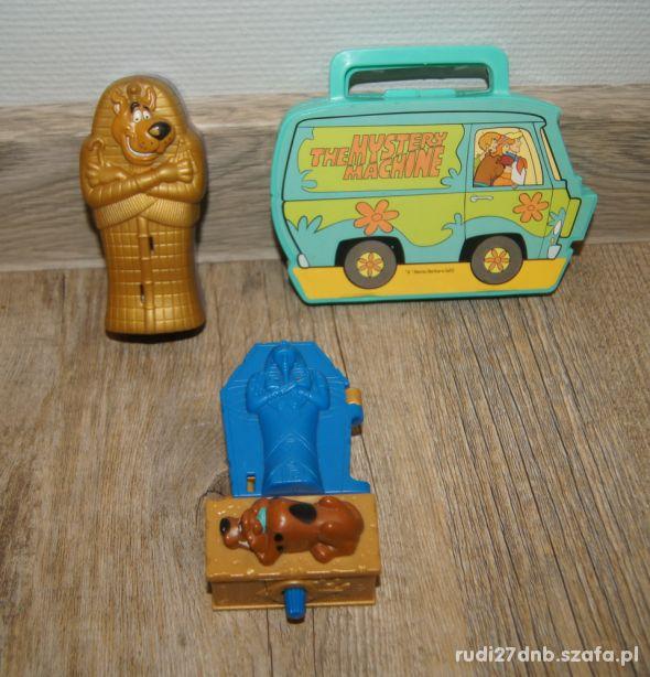 Figurki zestaw kolekcja Scooby Doo