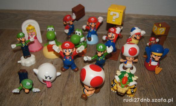 Figurki zestaw kolekcja Mario Bros