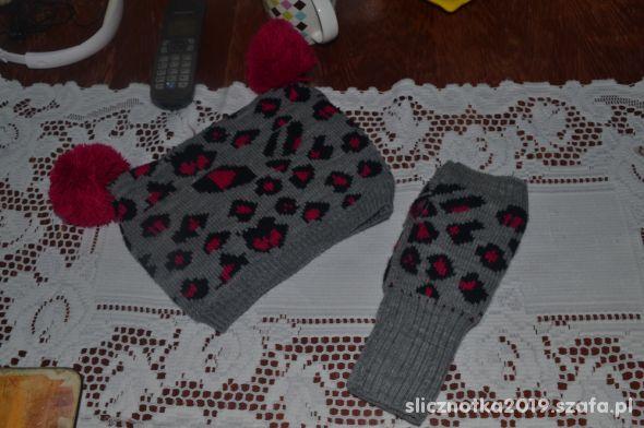 Sinsay Czapka i rękawiczki bez palców Uniwersalny