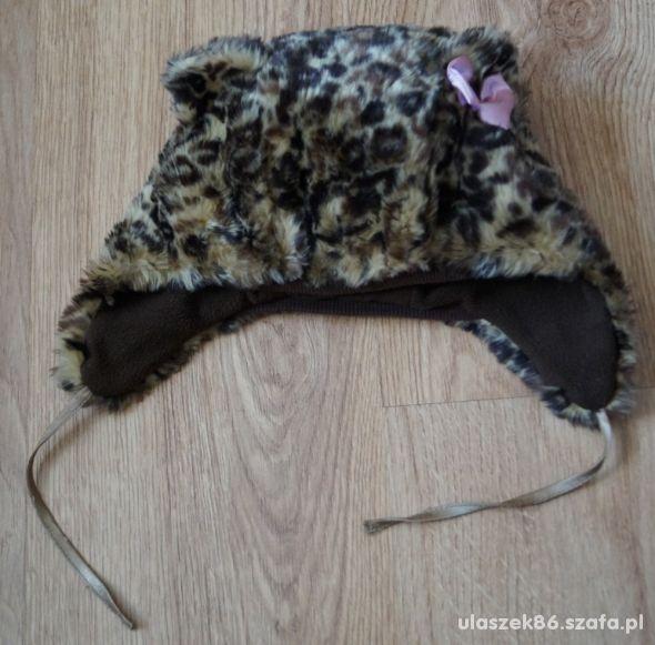 futerkowa czapka h&m 86