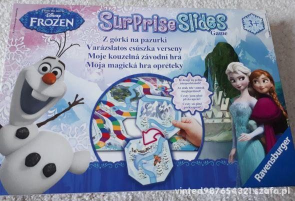 Disney Frozen gra Z górki na pazurki