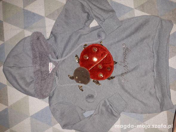 Ciepła bluza r 122