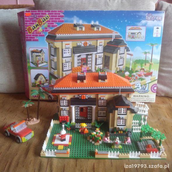 klocki Ban Bao Domek Marzeń 1100 elementów
