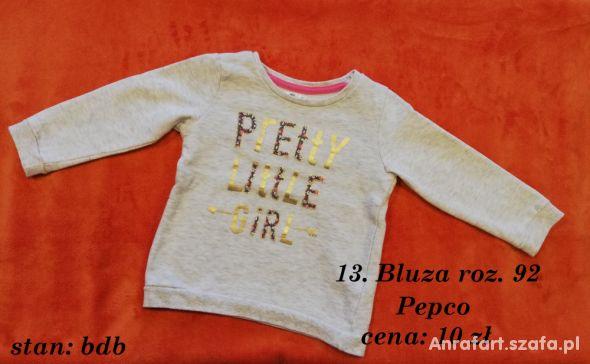 Bluza Pretty Little Girl roz 92 Pepco