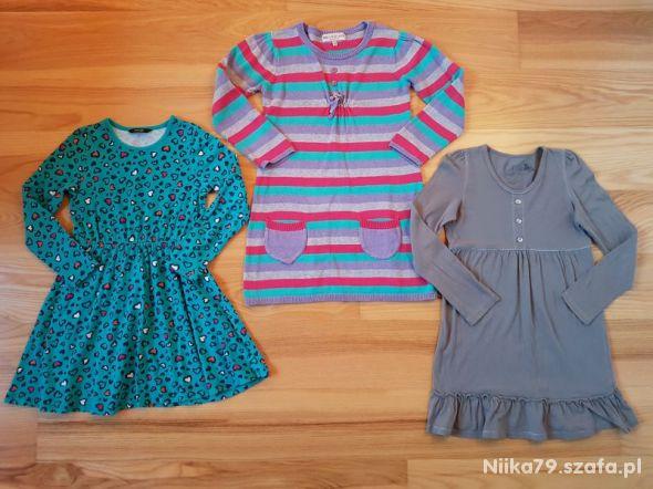 Sukienki dla dziewczynki 116 122