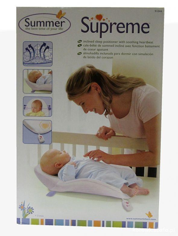 SUMMER poduszka materac dla wczesniaka noworodka