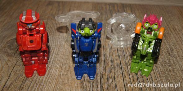 Figurka Angry Birds transformers autka 6 elementów