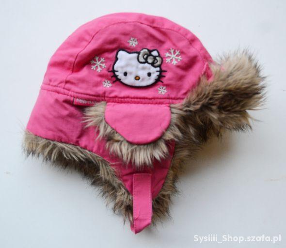 Czapka Zimowa Różowa Hello Kitty 86 98 cm 1 3 lata