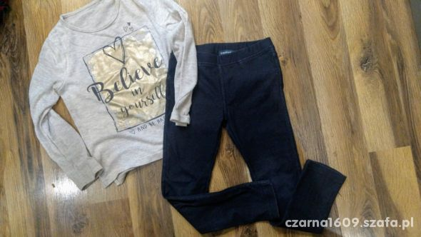 Legginsy bluzeczka 122