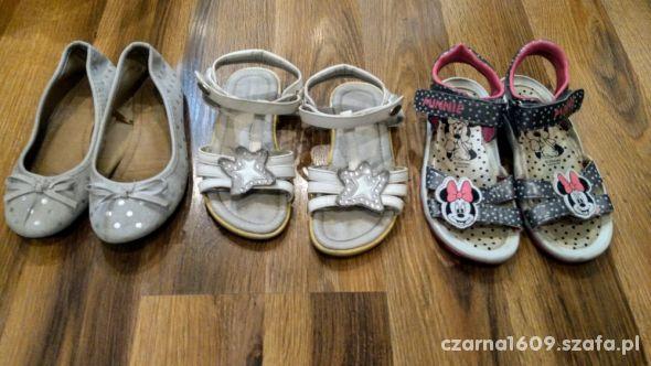 Buty sandały baleriny 29