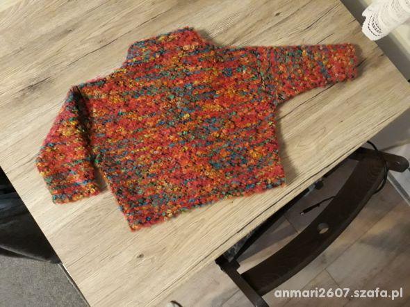 Sweterek golf kimono roz 86