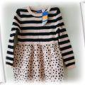 Sweterkowa sukienka r 98 104