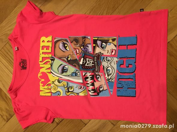 Koszulka CA Monster High 146 152